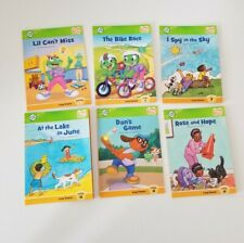 Leap Frog Tag Books Phonics & Comprehension Skills Vowels Lot of 6