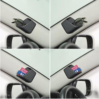 2pcs Black Universal Car Auto Accessories Glasses Organizer Storage Box Holder