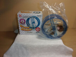 NEW OPENED BOX KIDS TOY HAMSTER WHEEL RUNNER BLUE
