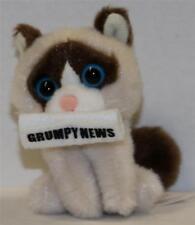 GUND Blind Box Series 1 Plush KEY-CHAIN GRUMPY CAT WITH GRUMPY NEWSPAPER