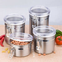 SMALL LARGE AIRTIGHT ODOUR SMELL PROOF STASH CAN STORAGE POT SEALED JAR KEYRING