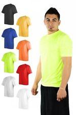 Polyester Short Sleeve Regular Size XS T-Shirts for Men