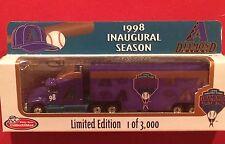 1998 Inaugural Season Arizona Diamondbacks Diecast Tractor-Trailer