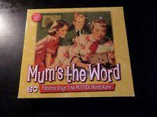 CD TRIPLE ALBUM - MUMS THE WORD - EDDY ARNOLD / MORTON DOWNEY / EARL KING