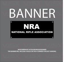 Nra National Rifle Association Usa Vinyl Banner Flag Outdoor indoor Sign Gun