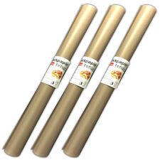 3 Stück Antihaft Dauerbackfolie Backpapier Teflon Dauerbackpapier Backtrennfolie