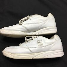 Nike Women's Tennis Shoes Leather White 10 Athletic