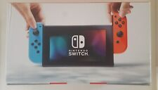 Nintendo Switch 32GB Gaming Console Red/Neon Blue Joy-Con New Sealed