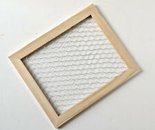 Chicken Wire Unfinished Wood Frame Decor 9.5x11.5""