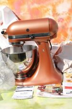 KitchenAid Model KSM88PSQCEO Mixer, Attachments, 2 Bowls, Copper Pearl NEW