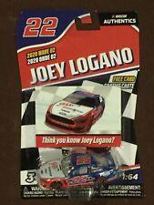 2020 Joey Logano #22 AAA 1/64 Nascar Authentics Wave 2- Ships Free!