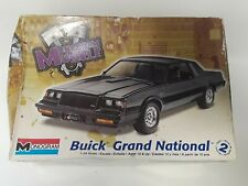 Vintage 1987 BUICK GRAND NATIONAL 1:24 Scale Model Kit Monogram Muscle Unopened