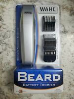 Wahl Cordless Battery Operated Beard Trimmer Clippers Kit For Men