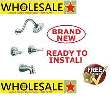 Design House 523480 Oakmont 2-Handle Tub and Shower Faucet, Satin Nickel Finish