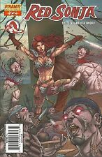 Red Sonja (2005-2013 Dynamite) 22B Michael Avon Oeming Gregory Homs Cover