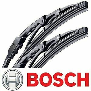 2 OEM Direct Connect Wiper Blade Boschs 2004-2008 For Acura TSX Left Right