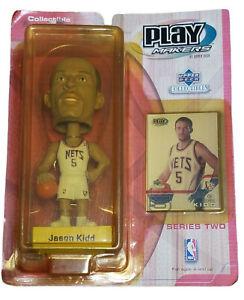 Jason Kidd 2001 Upper Deck Play Makers NBA New Jersey Nets NIB Bobble Head