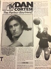 Dan Cortese, Full Page Vintage Clipping