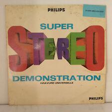 Various – Super Stereo Demonstration Label: Philips – Vinyl, LP, Compilation