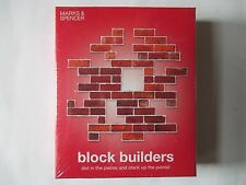 Block Builders Strategy Game From Marks and Spencer, New Sealed and Unopened.