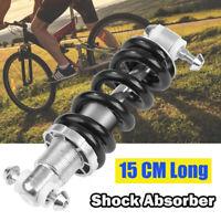 1x 150mm Fahrrad Mountainbike Teile Hinterbau Dämpfer Stoßdämpfer Schwarz