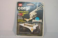 CORGI TOYS 41 JAMES BOND 007 SPACE SHUTTLE MOONRAKER MINT BOXED SELTEN RARE!!