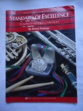 Timpani and Auxiliary Percussion Bk. 1 (1993, Softcover) Standard of Excellence