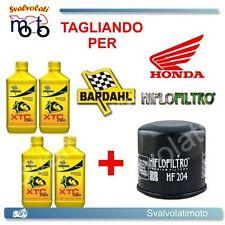 TAGLIANDO FILTRO OLIO + 4LT BARDAHL XTC 10W40 HONDA CBR 600 F-FA 2011