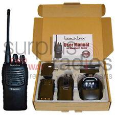 NEW BLACKBOX+ 16CH 5W VHF 136-174MHZ RADIO RACE HUNTING POLICE FIRE HAM CAMPING