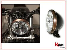 FARO ANTERIORE COPPER STYLE HEADLIGHT UNIVERSALE CAFE RACER CUSTOM VINTAGE