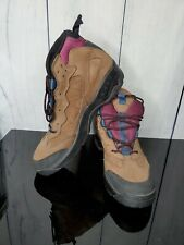 Coleman Men's Size 9.5 Hiking, Fishing, Camping Outdoors Shoes Brown Suede Boots