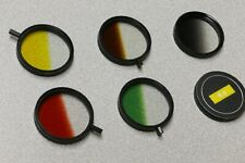 5 Camera Filters - 49mm – Tiffen Gradual Color - USA