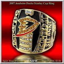 2007 ANAHEIM DUCKS  Stanley Cup Champions   RING SiZE 11.25