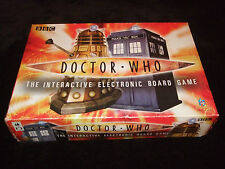 DOCTOR WHO-- INTER-ACTIVE ELECTRONIC FAMILY BOARD GAME BY TOY BROKERS 2004