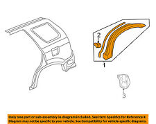 HONDA OEM 02-04 CR-V Fender-Wheel Flare Molding Right 74410S9A000