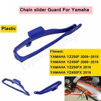 Swingarm Chain Slider Blue For Yamaha For YZ250F YZ450F 2009 -2019 YZ 250 450FX