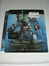 Pirates of the Caribbean Dead... (4K Ultra HD slip cover only)No Disc No Blu Ray