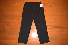 Liz Claiborne Black Leopard Print Straight Leg Jeans - Women Sz 16 -