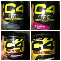 CELLUCOR C4 Ripped & C4 Extreme Pre Workout 30/60 Servings *Ready 2 Ship