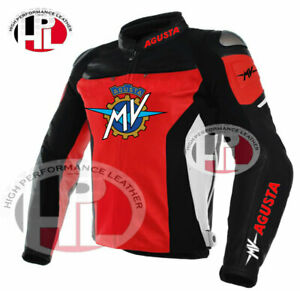 New Motorcycle/Motorbike Motogp MV Agusta racing leather jackets brand New