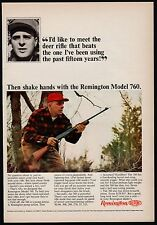 1965 REMINGTON Model 760 Shotgun Vintage Hunting AD Advertising