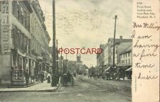 pre-1907 FRONT STREET LOOKING WEST FROM PARK AVE., PLAINFIELD, N. J. 1906