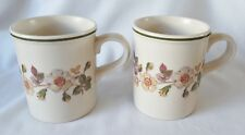 M&S Autumn Leaves Mugs x 2  - Marks and Spencer