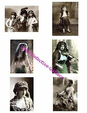 Gypsies #1 - Photo Collage for Scrapbooking / Crafts / ATCs / ACEOs