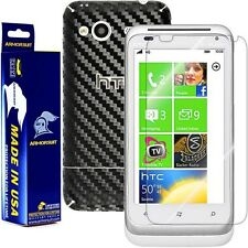 ArmorSuit MilitaryShield HTC Radar 4G Screen Protector + Black Carbon Fiber Skin