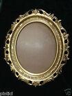 marco oval ANTIGUO Rococó de espejo 58x68 estilo moderno Suntuoso oro