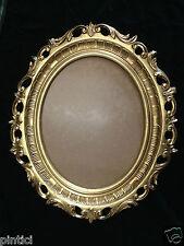Cadre d'image ovale ancien Rokoko armature de Miroir 58x68 art nouveau somptueux