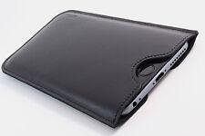 HTC One M9 Cuero Funda de Móvil Negro Manga Cubierta Deseo Grabado
