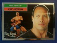 2006 Topps Chrome WWE Heritage Dwayne Johnson THE ROCK #10 RARE WRESTLING