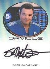 2020 The Orville Archives Seth MacFarlane Captain Mercer Bordered Autograph Card